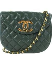 Chanel - Leather Crossbody Bag - Lyst