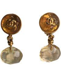 Chanel - Pre-owned Vintage Multicolour Metal Earrings - Lyst