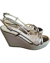Jil Sander - Leather Sandals - Lyst
