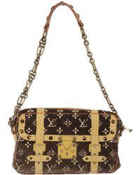 Louis Vuitton - Pre-owned Trocadéro Pony-style Calfskin Handbag - Lyst