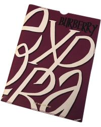 Burberry - Leather Purse - Lyst