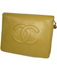 Chanel - Pre-owned Timeless Leather Vanity Case - Lyst