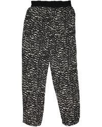 Isabel Marant - Pre-owned Silk Trousers - Lyst