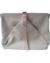 Alexander Wang - Pre-owned Leather Clutch Bag - Lyst