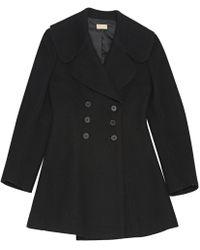 Alaïa - Pre-owned Wool Coat - Lyst