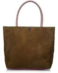 Dior - Brown Pony-style Calfskin Handbag - Lyst