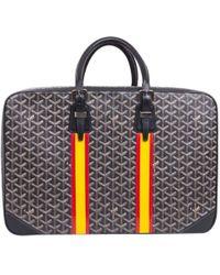 Goyard Pre-owned - Croisière cloth bowling bag EyTa5m