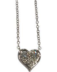 Tiffany & Co. - Platinum Pendant - Lyst