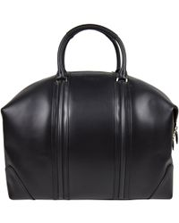 0dcfbac82a Givenchy Black Leather Nightingale Gym Bag in Black for Men - Lyst