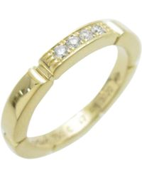 cartier preowned maillon panthre yellow gold ring lyst