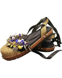Marni - Pre-owned Cloth Sandals - Lyst