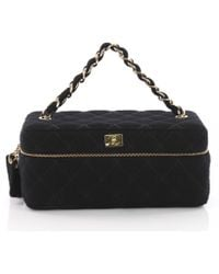 Chanel - Cloth Vanity Case - Lyst