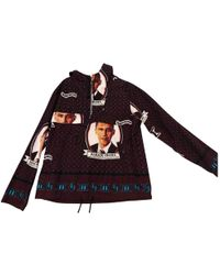 Supreme - Red Cotton Knitwear & Sweatshirt - Lyst