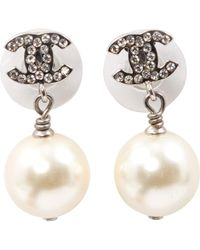 Chanel - Baroque Silver Pearl - Lyst
