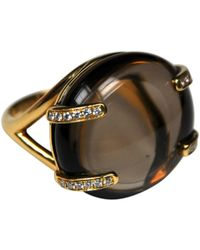 Omega - Yellow Gold Bague - Lyst