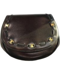 Ferragamo - Pre-owned Vintage Black Leather Clutch Bags - Lyst