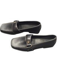 Céline - Leather Loafers - Lyst