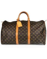 3d9373004d9 Gucci Beige Neo Vintage Duffle Bag in Natural for Men - Lyst