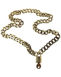 Dior - Pre-owned Necklace - Lyst