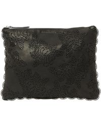 Zimmermann - Pre-owned Black Leather Clutch Bags - Lyst