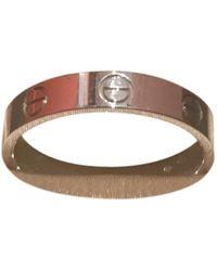 6c4e16b0b0889 Pre-owned Love Platinum Ring