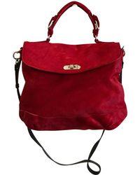 Marni - Pre-owned Red Pony-style Calfskin Handbags - Lyst c36011639e57b