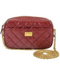 Chanel - Camera Red Leather Handbag - Lyst