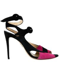 Paul Andrew - Pink Suede - Lyst