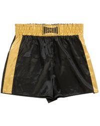 Moschino - Black Shorts - Lyst