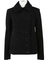 Alexander Wang - Wool Coat - Lyst