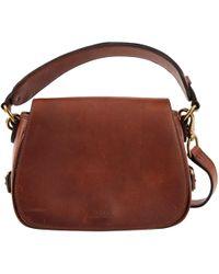 Polo Ralph Lauren - Pre-owned Leather Handbag - Lyst