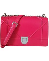 Dior - Pre-owned Ama Red Leather Handbags - Lyst