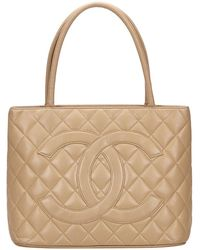 Chanel - Médaillon Brown Leather - Lyst