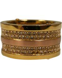 Michael Kors - Gold Metal Ring - Lyst