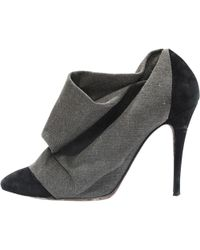 IRO - Pre-owned Cloth Ankle Boots - Lyst