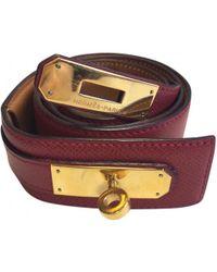 Hermès - Vintage Other Leather Belts - Lyst