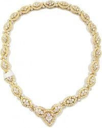 Van Cleef & Arpels - Pre-owned Yellow Gold Necklace - Lyst