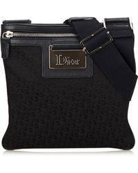 Dior - Pre-owned Cloth Crossbody Bag - Lyst