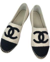 Chanel - Leinen Espadrilles - Lyst