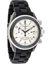 Chanel - Pre-owned J12 Automatique Watch - Lyst