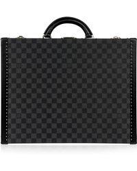 Louis Vuitton - Leinen Business Tasche - Lyst