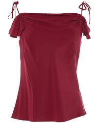 Etro - Pre-owned Silk Camisole - Lyst