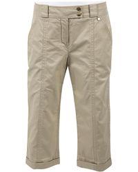 Louis Vuitton - Beige Cotton Shorts - Lyst