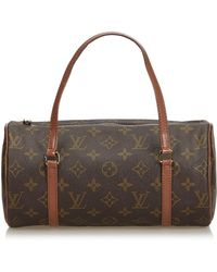 Louis Vuitton - Sac à main Papillon en toile - Lyst