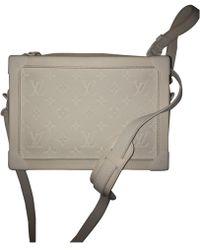 Louis Vuitton - Volga White Leather Bag - Lyst