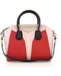 6aea1bbffb6 Givenchy 'antigona' Shopper Tote in Black - Lyst