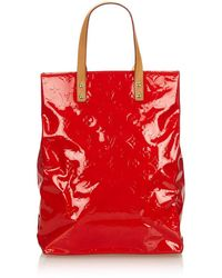 Louis Vuitton - Patent Leather Tote - Lyst
