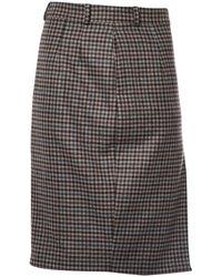 Loro Piana - Brown Cashmere Skirt - Lyst