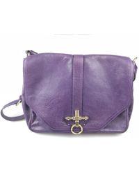 Givenchy - Obsedia Purple Leather Handbag - Lyst