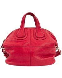 Givenchy - Nightingale Leather Handbag - Lyst